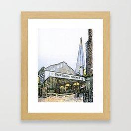 Borough Market, London Framed Art Print