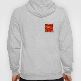 Sticker of Soviet Union (1922-1991) flag Hoody
