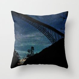 Blanket Of Stars Throw Pillow