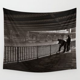 Autumnal Symphony of a Metropolis Wall Tapestry