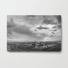 Paris Rooftops Metal Print