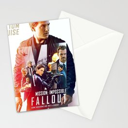 Mission Impossible 2018 Stationery Cards