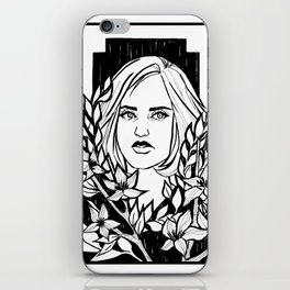 Delusion & Flowers iPhone Skin