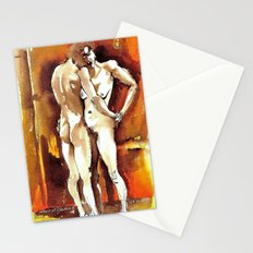 St. Valentine's Lovers Stationery Cards
