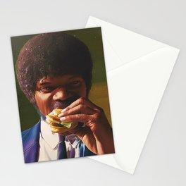 Tasty Burger Stationery Cards