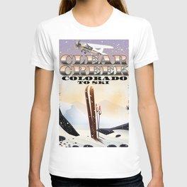 Clear Creek Colorado Ski T-shirt