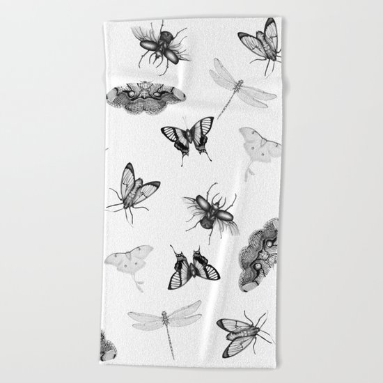Entomologist Dreams Beach Towel