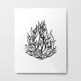 Planta Loca Metal Print