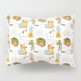 Retro Kitchen - Orange and Green Pillow Sham