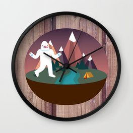 Big Dennis's Wild Day Out Wall Clock
