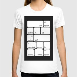 Keyboard Commands T-shirt