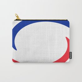 France Flag Whirl Carry-All Pouch