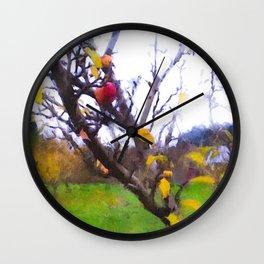 Apple tree Wall Clock