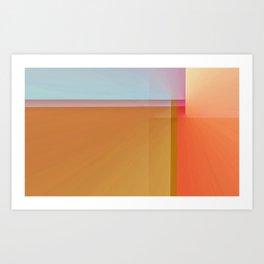 Fibonacci Sunset 1 Art Print