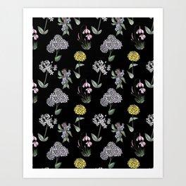 The Garden of Simplicities  Art Print