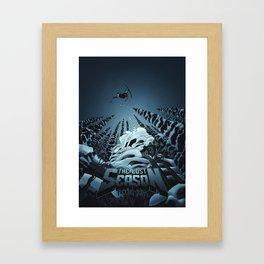 The Lost Season Framed Art Print