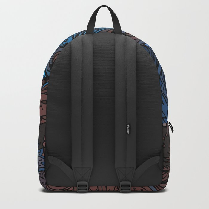 Indian Pattern 06 Backpack