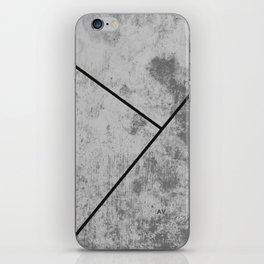 Concrete Textura iPhone Skin