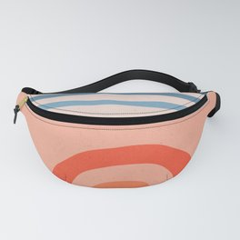 Rainbow lines Fanny Pack