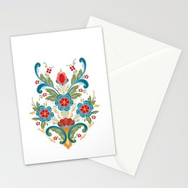 Nordic Rosemaling Stationery Cards
