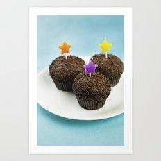 Cupcake Party  Art Print