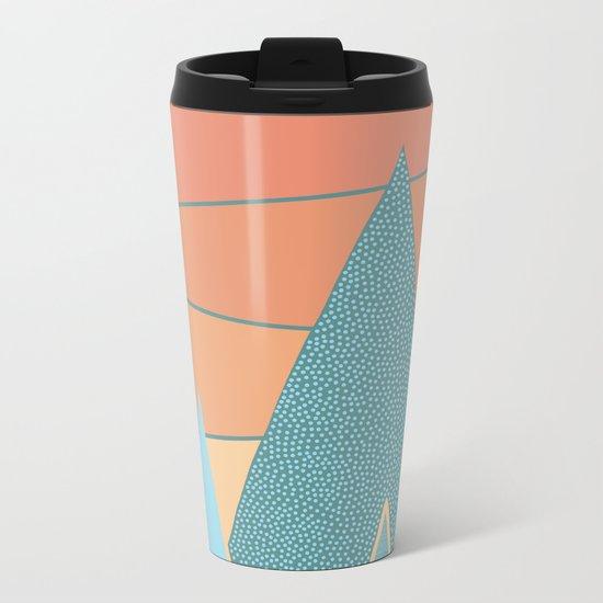 Sunset II Metal Travel Mug