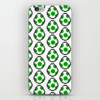 yoshi iPhone & iPod Skins featuring Yoshi Eggs by Rebekhaart