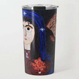 Our Lady of the Vine Travel Mug