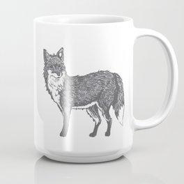 Drawing of a Fox Coffee Mug