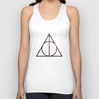 deathly hallows Tank Tops featuring Deathly Hallows by Michal