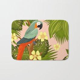 FLORAL AND BIRDS XIV Bath Mat