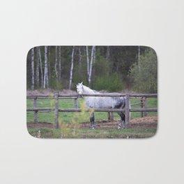 horse by Angelina Bath Mat