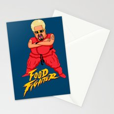 Food Fighter Stationery Cards