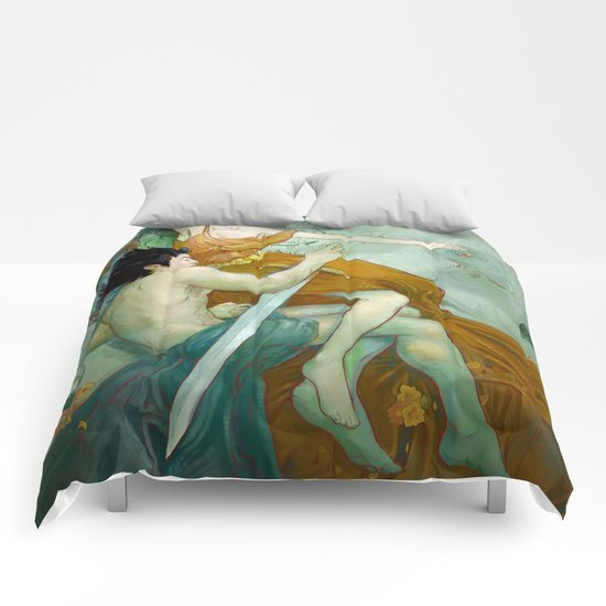 Calm and Storm Comforters