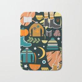 Autumn clothing Bath Mat