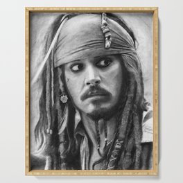 Jack Sparrow Serving Tray