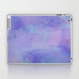 Watercolour Galaxy - Purple Speckled Sky Laptop & iPad Skin