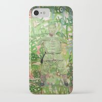 meditation iPhone & iPod Cases featuring Meditation by Michael Hammond