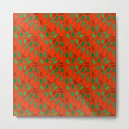 Mike and Ike Christmas Colors #candy Metal Print