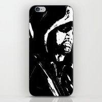 green arrow iPhone & iPod Skins featuring Arrow by Seth House