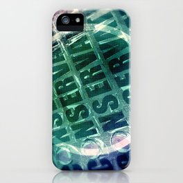 Conservative Words iPhone Case
