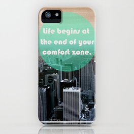 Life Begins  iPhone Case