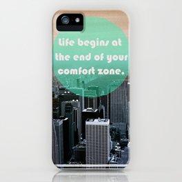 Life Begins  iPhone Case