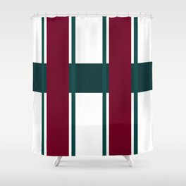 The Ruling Lines Shower Curtain