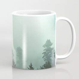 Magnificent Morning - Foggy Redwood Forest Nature Photography Coffee Mug