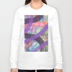 abstract color lines of seasons Long Sleeve T-shirt