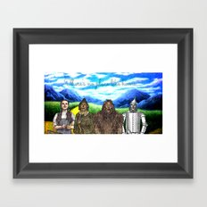 No Place Like Home Wizard Oz Art Framed Art Print