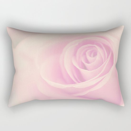 Vintage rose - Beautiful lightpink flower -Roses Rectangular Pillow