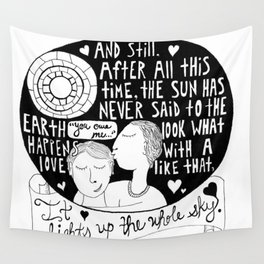 All this time Wall Tapestry