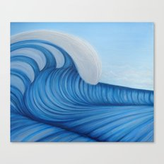 Surf a Big Wave Canvas Print